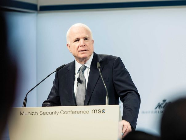 The Foreign Minister participates in the opening of the Munich International Security Conference in its 56th session Csm_McCain_csm_msc52_14feb16_3475_web_97be63a929
